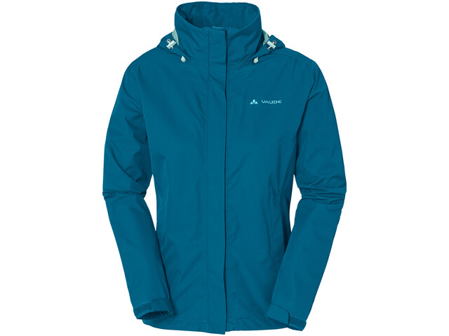 VAUDE Escape Light Chaqueta Mujer, kingfisher uni